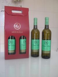 """Vinho Verde Branco  """"Santa Relíquia"""" - Pack com 2 garrafas. Preço: €14.35"""